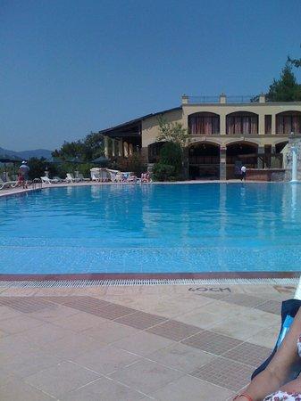 Club Nimara Beach Resort: view from sunbed