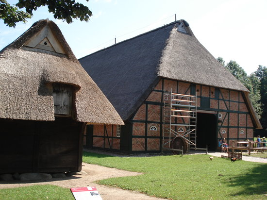Schleswig-Holstein Open Air Museum: Museum Houses