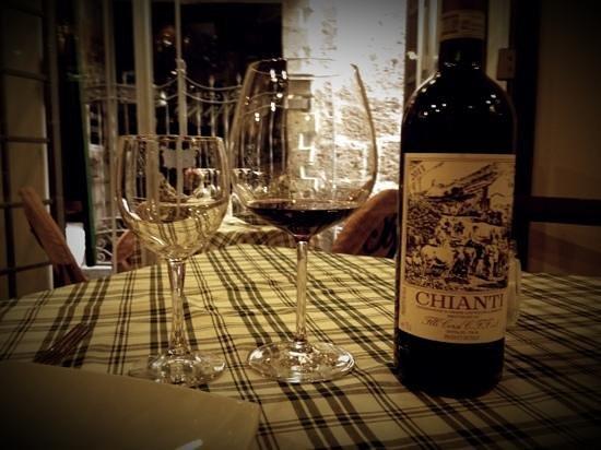 Old Taverna Sorrentina: vino