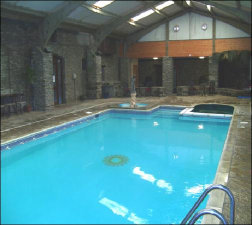 Trimstone Manor Country House Hotel : Swimming Pool