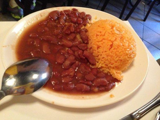 Pio Pio: Beans and rice