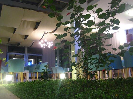 Hotel Quercus: на первом этаже