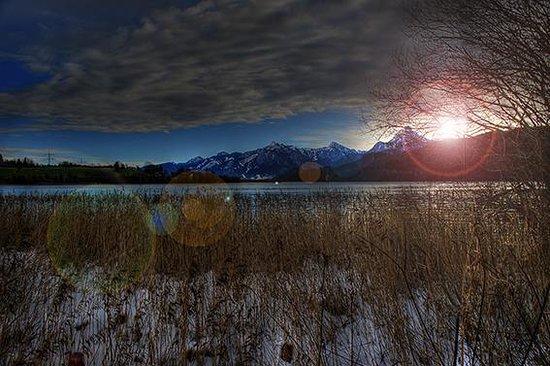 Appartement  Hotel Seespitz: Sunrise Lake Weissensee