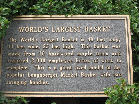 World's Largest Basket : Basket