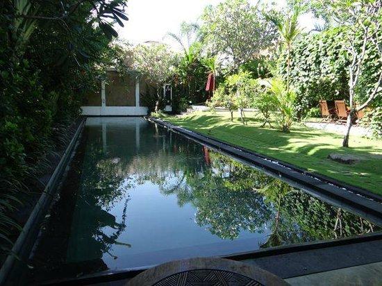 Villa Blubambu: The pool at guesthouse 3