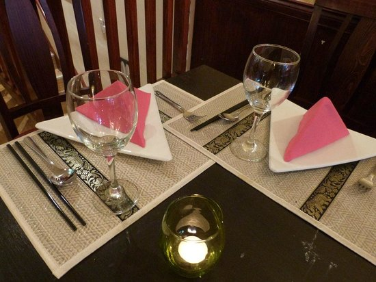 Wendy's Thai Fusion: Table