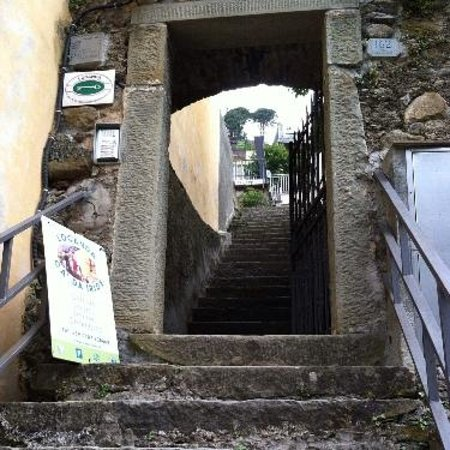 Locanda Ca da Iride: steps up to room