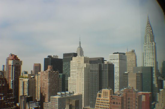 ONE UN New York: VUE DE LA CHAMBRE