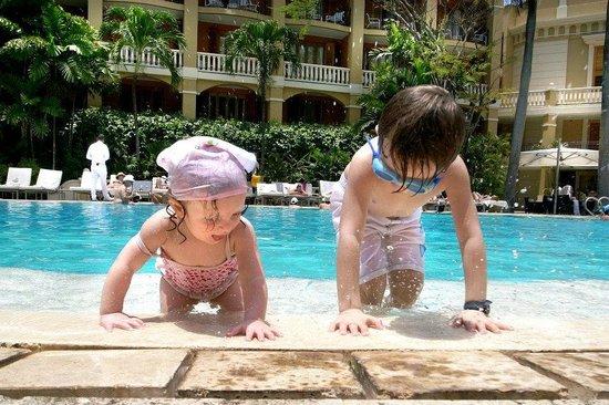 Bovedas de Santa Clara Hotel Boutique: Children at Sofitel, not at Bovedas