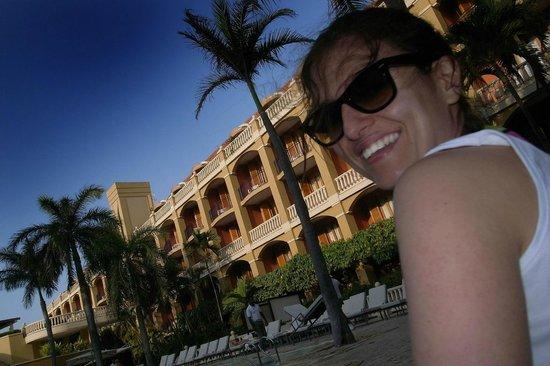 Bovedas de Santa Clara Hotel Boutique: Poolside at Sofitel, not at Bovedas
