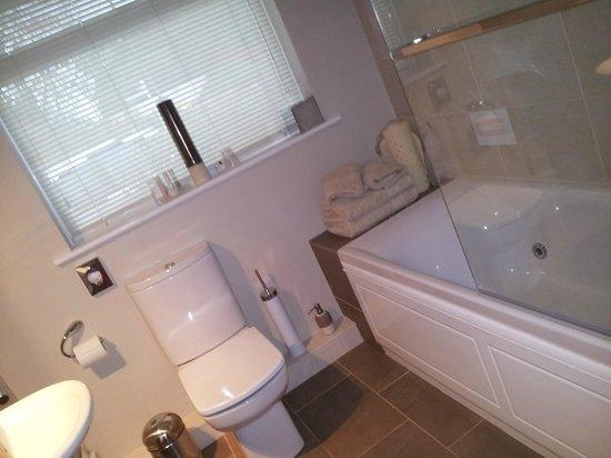 Willow Springs Bed & Breakfast: The en-suite bathroom (Alan room)
