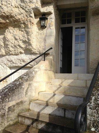 Les Hautes Roches: Entrée dans la chambre/Вход в номер