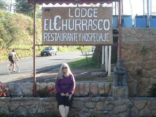 El Churrasco Hotel Restaurante : Signage