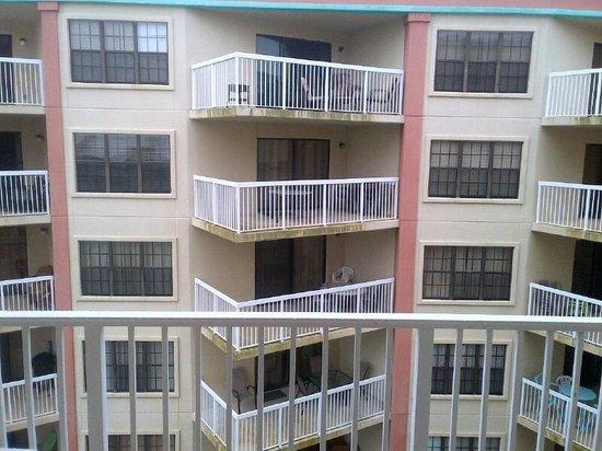"""Hilton Garden Inn Orange Beach: View from """"beach view"""" room"""
