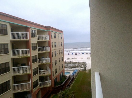 "Hilton Garden Inn Orange Beach: View from ""beach view"" room"