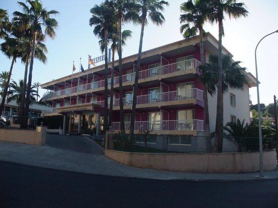 NH Ciudad de Mallorca: facade de l'hotel