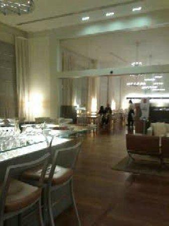 Hilton Garden Inn Florence Novoli: Sala colazione.