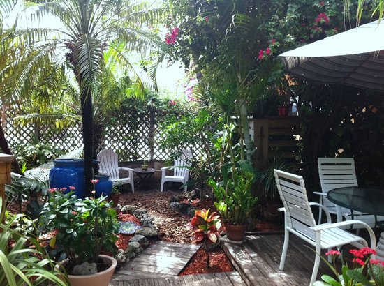 Ocean Inn: Garden