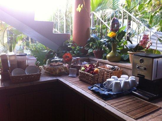 Ocean Inn : Breakfast