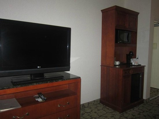 Hilton Garden Inn Redding : Nice TV