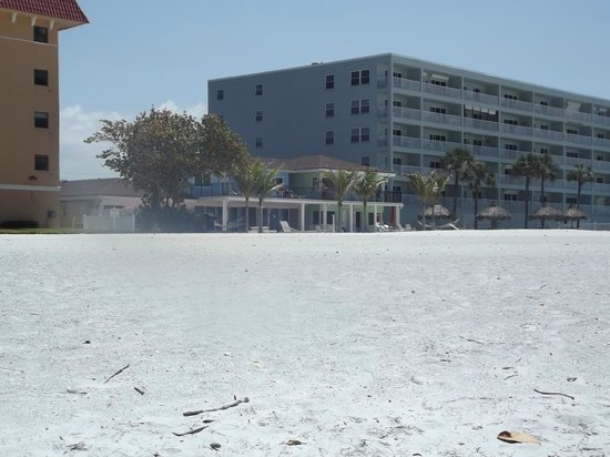 The Hotel Sol: Hotel View from Side angle of Beach