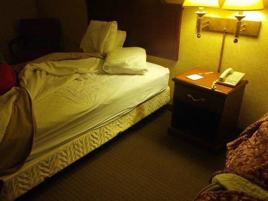 Days Inn & Suites by Wyndham Wynne: Broken down, stained mattress.