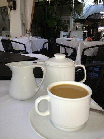 The Restaurant at La Te Da: Wonderful way to start the day