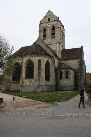 Marker of la mairie d 39 auvers picture of maison auberge for Auberge ravoux maison van gogh