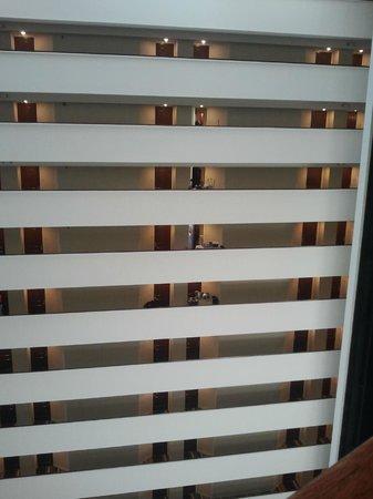 Hyatt Regency Houston: Vista sui piani delle camere