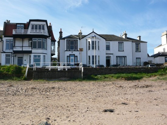 The Wing, Bed and Breakfast: View From Beach