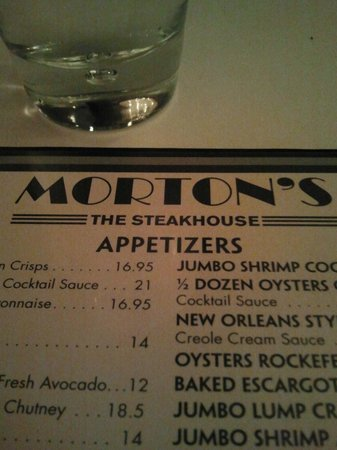 Morton's The Steakhouse - Houston - Downtown