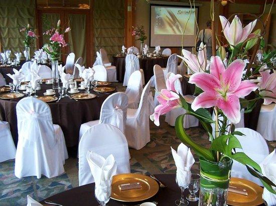 Morgan Creek Golf Course: Wedding Set Up
