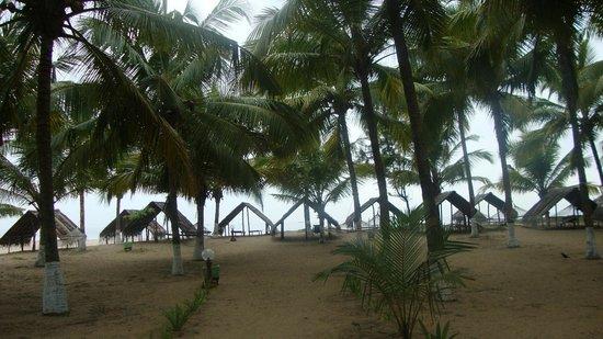 Kadappuram Beach resort: Auf dem Weg zum Strand
