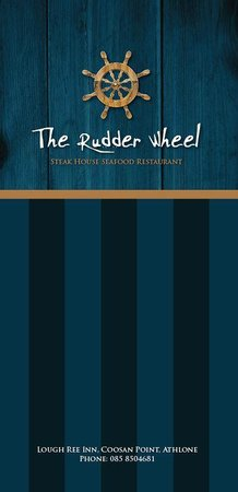The Rudder Wheel: logo