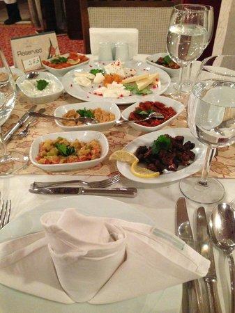 Papillon Ayscha Hotel: Turkish a la Carte - MUST TRY!!!!