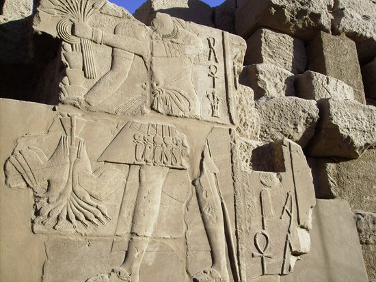 Nile River: Luxor Tempel .