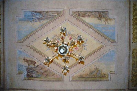Villa Valentino : soffitto,un particolare...