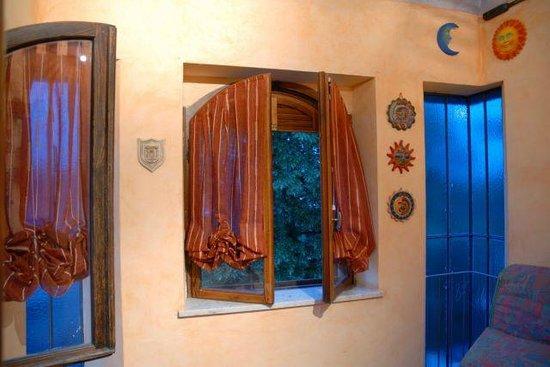 Villa Valentino : finestra torre