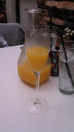 Blossom: $10 Carafe of Mimosa