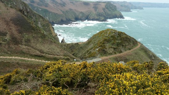 St Mary, UK: The coastal path