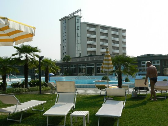 Continental Terme Hotel: Panoramica