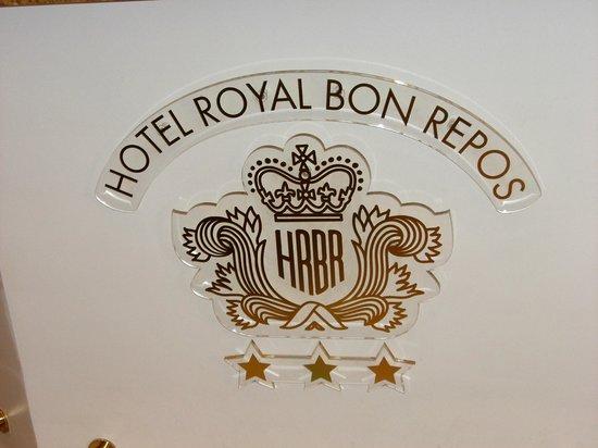 Hotel Royal Bon Repos: Panneau d'accueil de l'hôtel