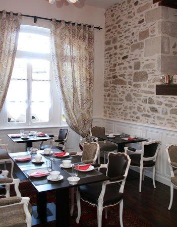Le Jardin Des Lys : salle petits déjeuners