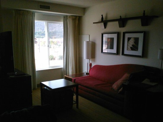 Residence Inn Glenwood Springs : living room area