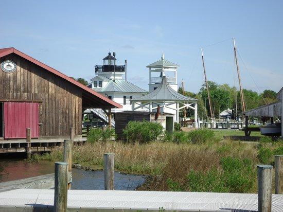 1879 Hooper Strait Lighthouse: Hooper Straight Light in center background