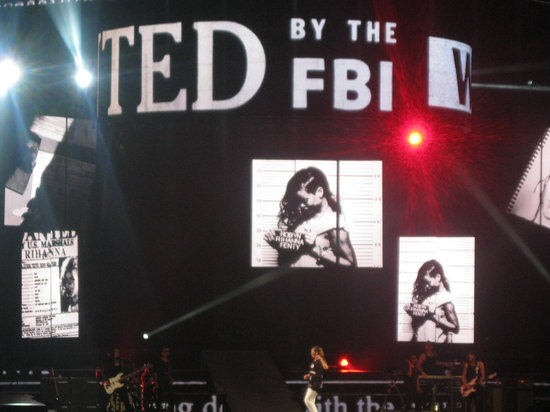 Prudential Center: Rihanna concert