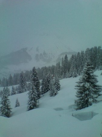 Hotel Sonnenburg: Nevicata