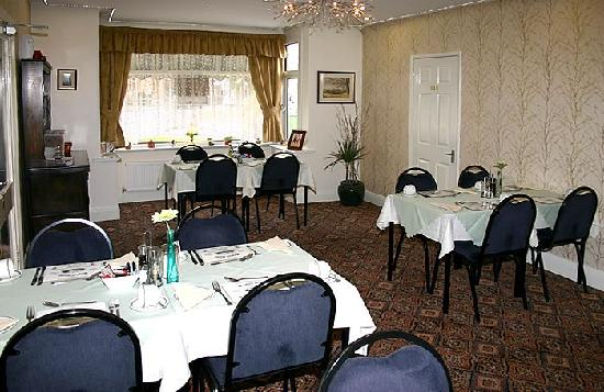The Mayfair Hotel: dinning room