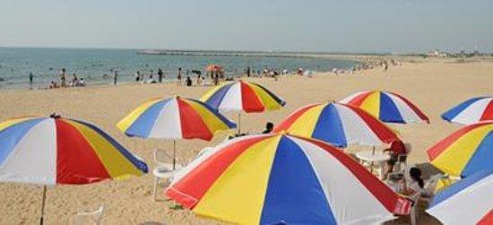 Nanshan Tourist Area: beaches at Donghai