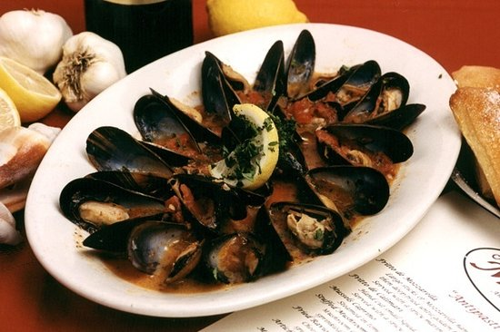 Cafe Milano: Mussels